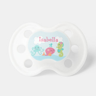 Under the Sea Life/Oceanlife Pairs Pacifier