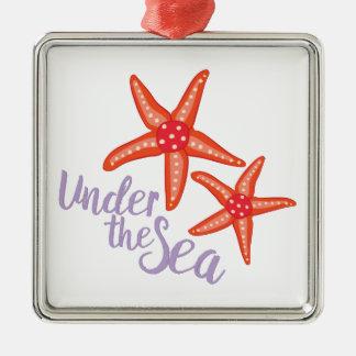 Under The Sea Metal Ornament