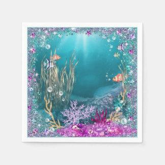 Under the Sea Ocean Napkins