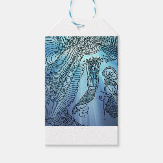 Under the sea pack of gift tags