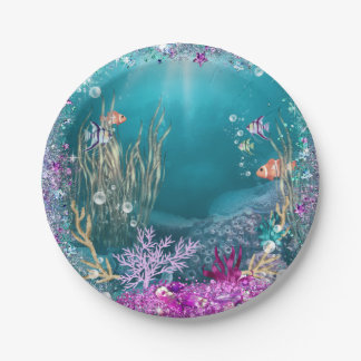 Under the Sea Paper Plates