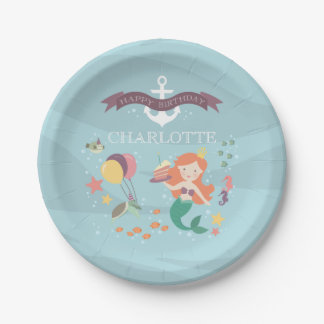 Under the Sea Party Plate 7 Inch Paper Plate