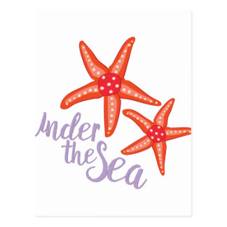 Under The Sea Postcard