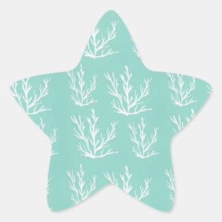 under the sea star sticker