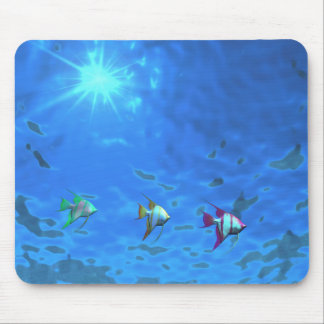 Under The Sea Tropical Fish Mouse Pad