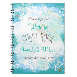 Under the Sea Wedding Guest Book
