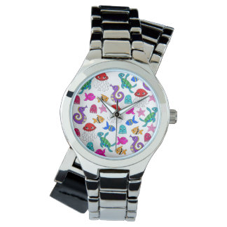 Under the Sea Wrist Watches