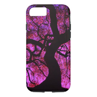 Under The Tree in Pink/Purple iPhone 8/7 Case