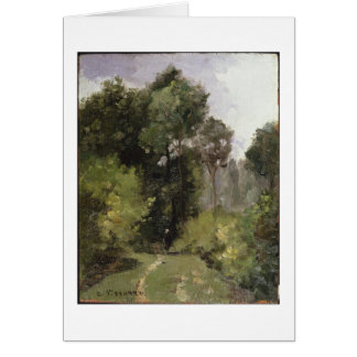 Under the Trees, 1864 (oil on board) Card