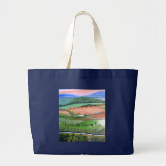 Under the Tuscan Sun Large Tote Bag