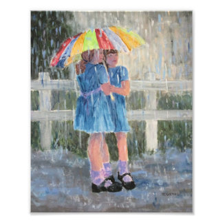Under the Umbrella Photo Print