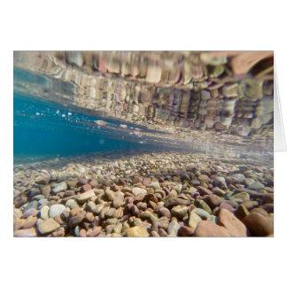 Under the Water at Lake McDonald Card