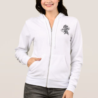 Under The White Rose Hoodie