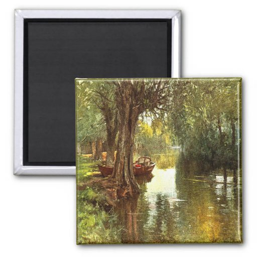 Under the Willows Magnet