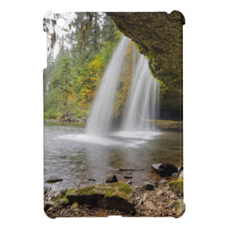 Under Upper Butte Creek Falls in Autumn Case For The iPad Mini