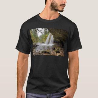 Under Upper Butte Creek Falls in Autumn T-Shirt