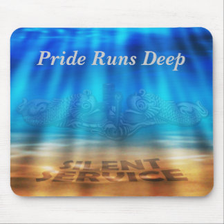 Under Water Mouse Pad Silver