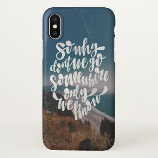 Under why don´t we go iPhone x case