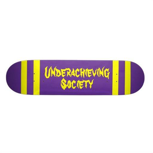 Underachieving Society Pill Deck Skateboard Deck