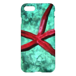 Underbelly of a starfish iPhone 7 case