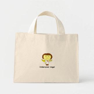 undercover angel mini tote bag
