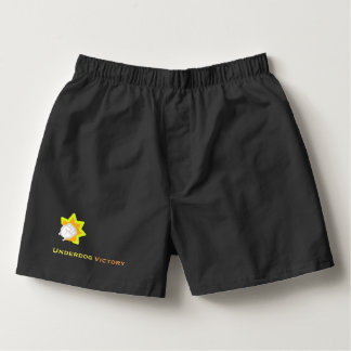 Underdog Victory Black Punch Boxers