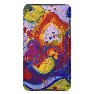 Underground – Crimson & Iris Hearts iPod Touch Case-Mate Case