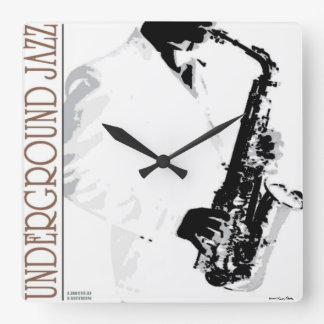 Underground Jazz Wall Clock