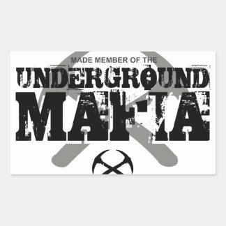 UNDERGROUND MAFIA STICKER