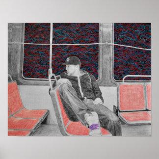 Underground Print by Meghan Oona Clifford