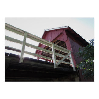 Underneath the Covered Bridge Poster