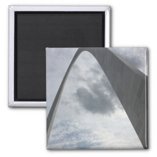 Underneath the Gateway Arch Magnet