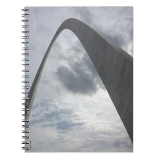 Underneath the Gateway Arch Notebook