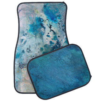 Undersea Abstract Car Mat