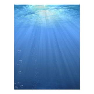 Undersea Letterhead
