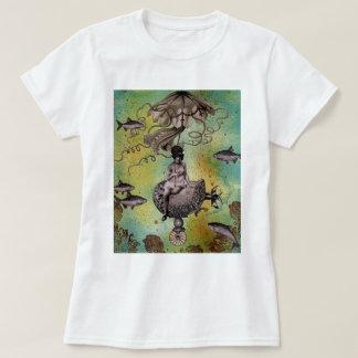 Undersea Steampunk Jellyfish T-Shirt