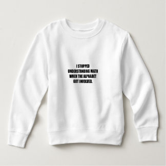 Understand Math Alphabet Sweatshirt
