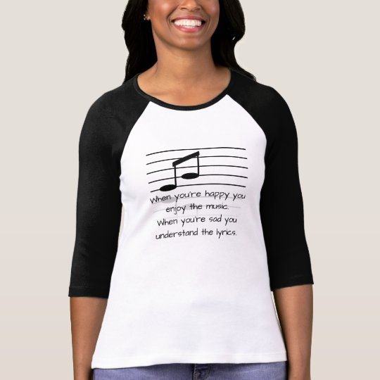 Understand the lyrics - Women's T-shirt fashion