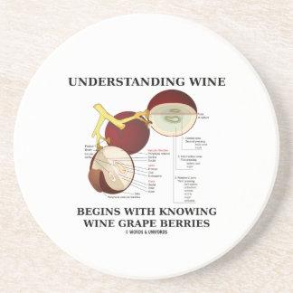 Understanding Wine Begins With Knowing Wine Grape Beverage Coasters