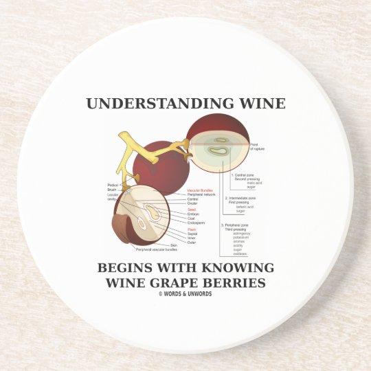 Understanding Wine Begins With Knowing Wine Grape Coaster