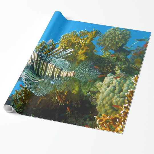 Underwater 33 Wrapping Paper