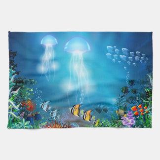 Underwater 7 Kitchen Towels