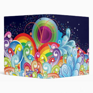 Underwater Abstract Binder