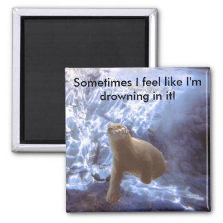 Underwater Bear Magnet