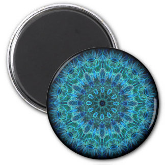 Underwater Beauty kaleidoscope Magnet