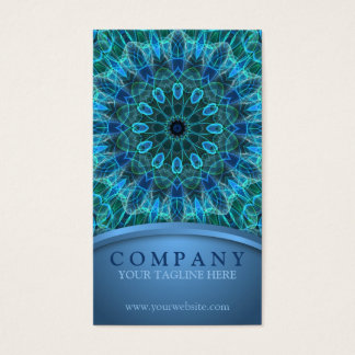 Underwater Beauty Mandala Business Card