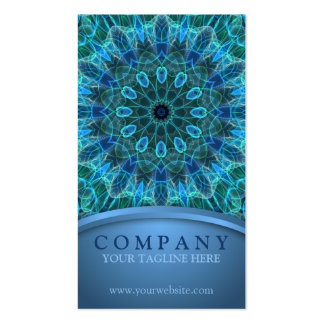 Underwater Beauty Mandala Pack Of Standard Business Cards