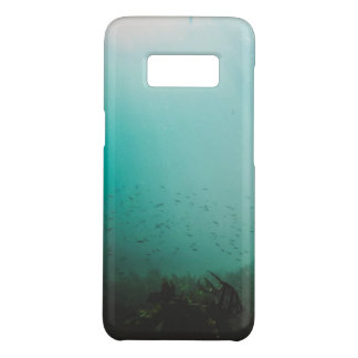underwater blue sea Case-Mate samsung galaxy s8 case