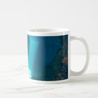 Underwater Cave Classic White Coffee Mug