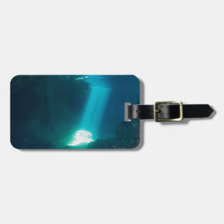 Underwater Cave Luggage Tag